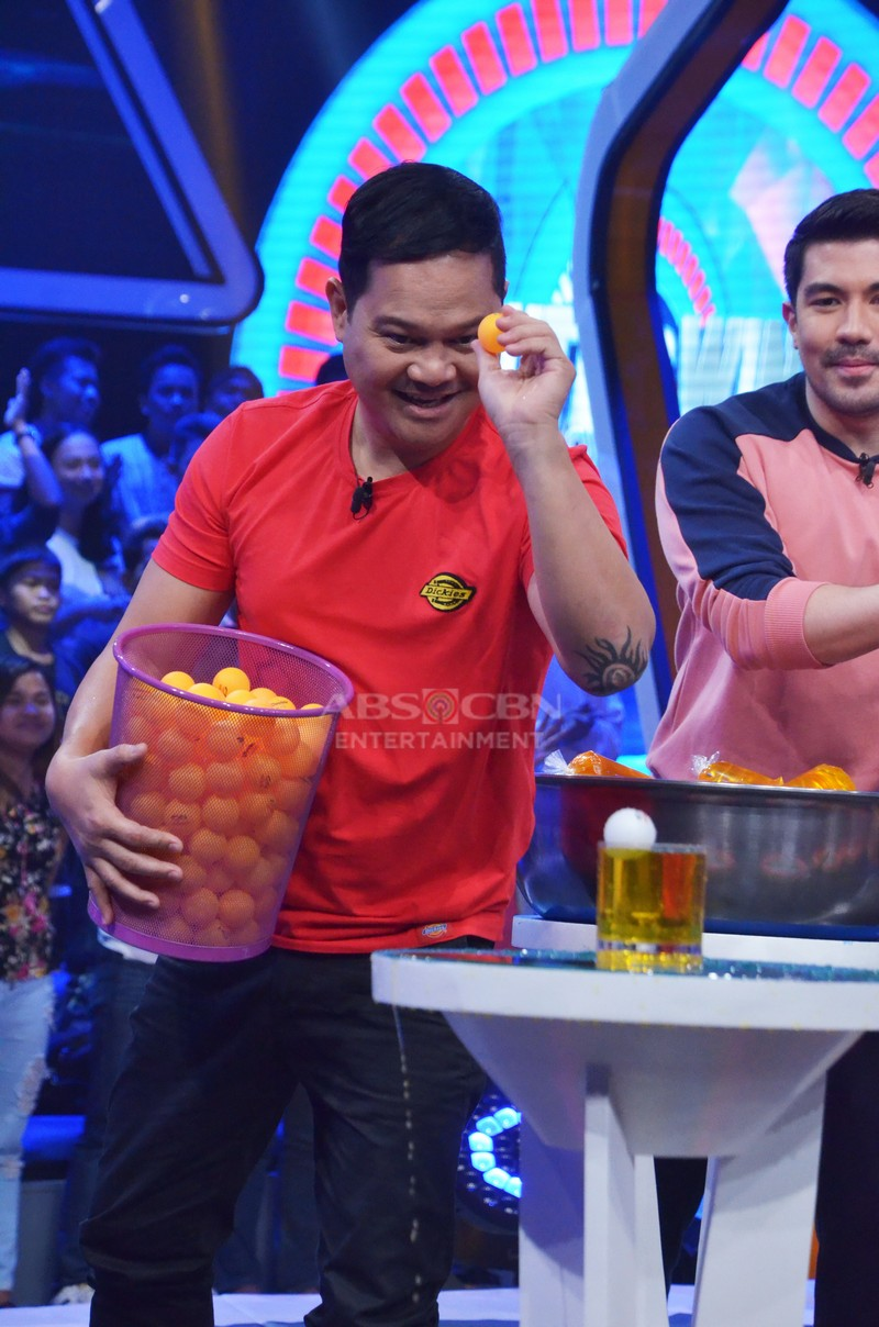 MINUTE TO WIN IT PHOTOS: #MTWIWednesYey with Judy Ann, Yam, Bayani, Zeus and Elisse