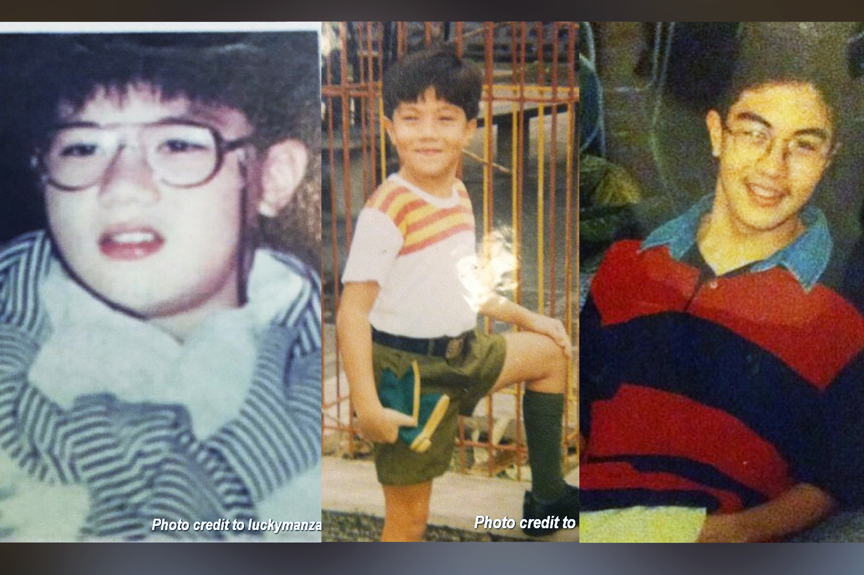 ANG CUTE! Check out these photos of Luis Manzano through the years