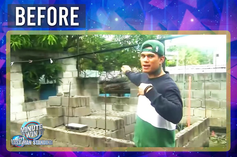 LOOK: Zeus Collins renovates family's house using his jackpot prize from Minute To Win It