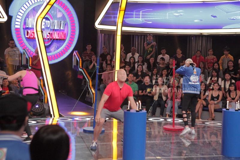 IN PHOTOS: Ang pagbabalik ng Minute To Win It Last Man Standing!