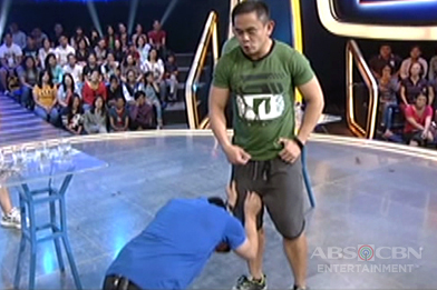 Jason, nahubaran sa Minute To Win It