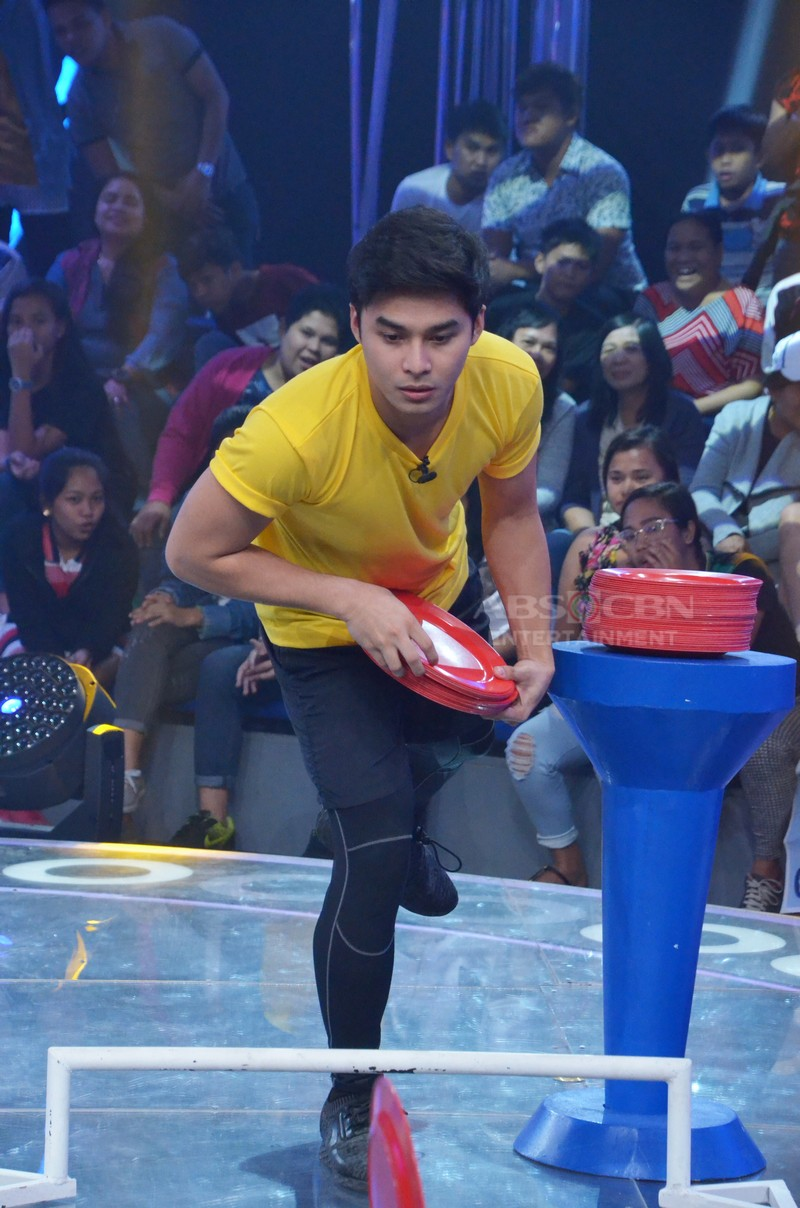 MINUTE TO WIN IT PHOTOS: Ang paghaharap nina Zeus, McCoy, Juliana at CJ para maging Ultimate Last Man Standing