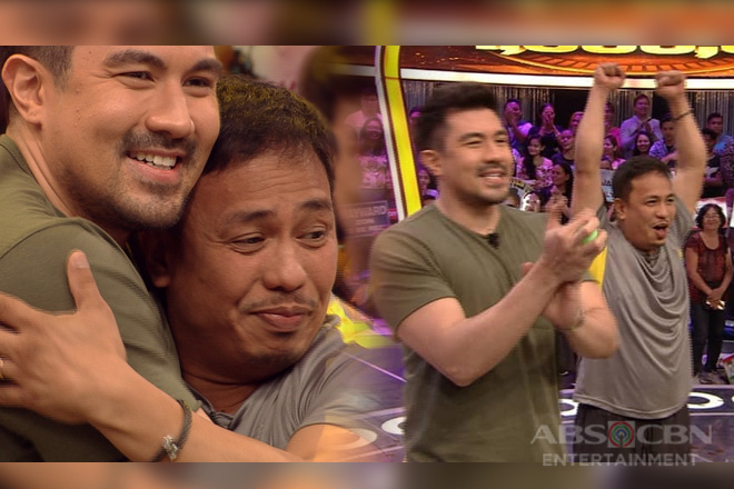 PHOTOS: Eric Nicolas' winning moments on Minute To Win It!