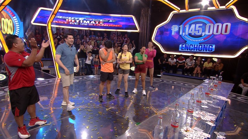 IN PHOTOS: Enchong Dee wins P1M on Minute To Win It