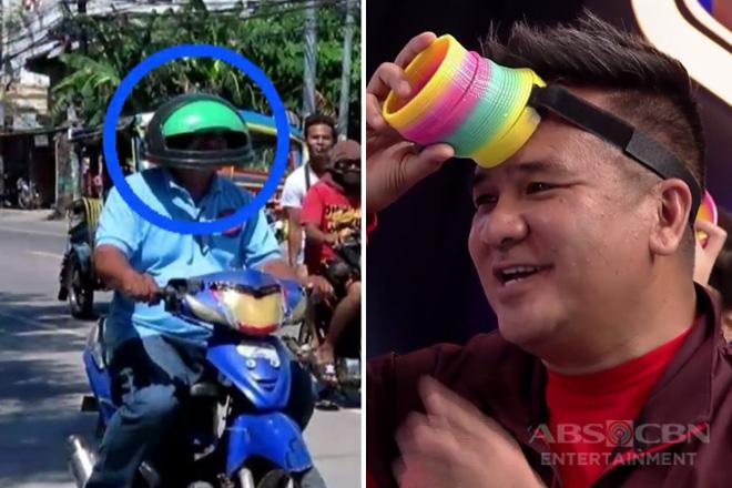 Minute To Win It: Bong Nebrija, nasubukan ang galing kung anong ikakaso sa mga maling paggamit ng helmet