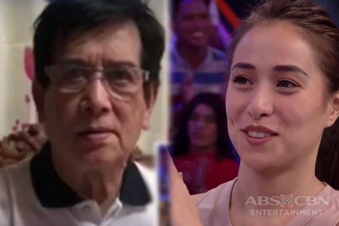 Minute To Win It: Cristine, na-surprise sa message ng kanyang Daddy Demetrio