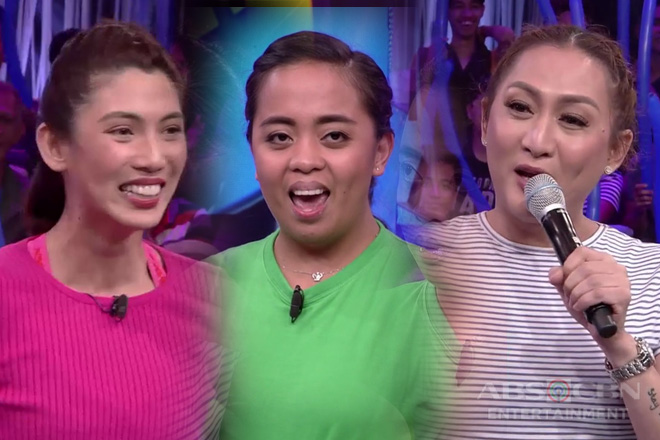 Minute To Win It: Iyah, Donna at Nicole, nagharap-harap sa question and answer portion