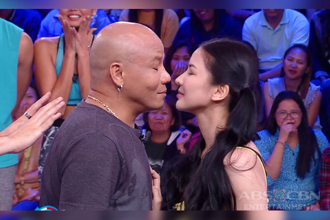 Minute To Win It: Abby, binigyan ng goodbye kiss si Wacky Kiray